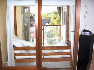 Dachgeschoßwohnung mit innenliegendem Balkon